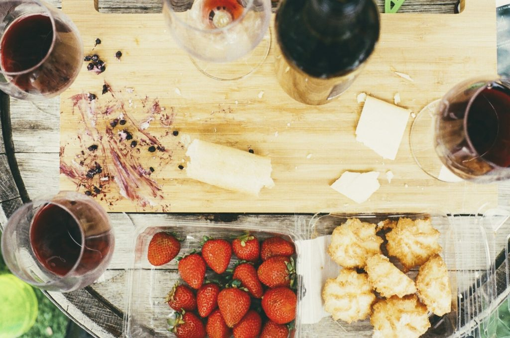 still-life-with-cutting-board-wine-glasses-and-strawberries
